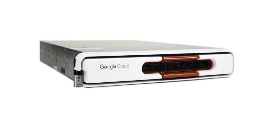 Google transfer appliance