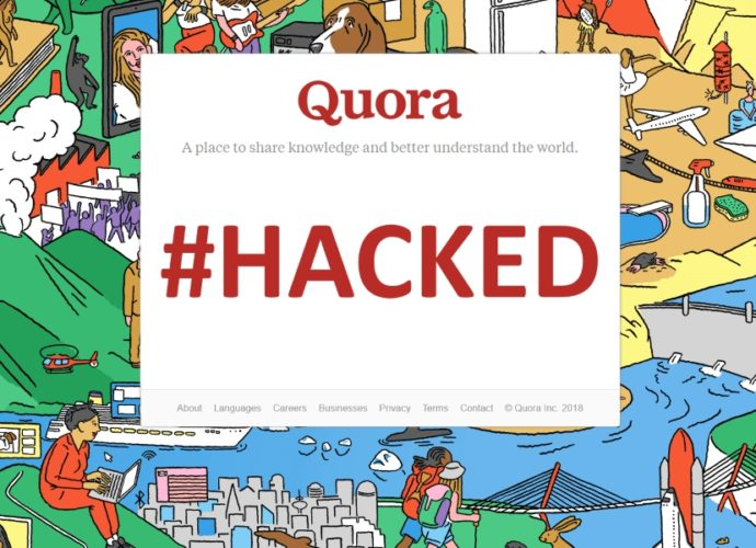Quora Hacked
