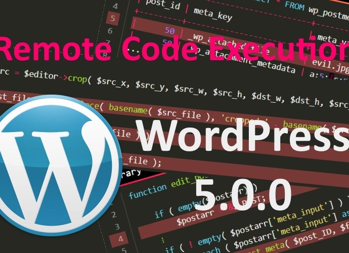 WordPress 5 RCE