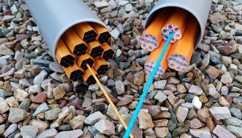 KPN recycled plastic fiber optic