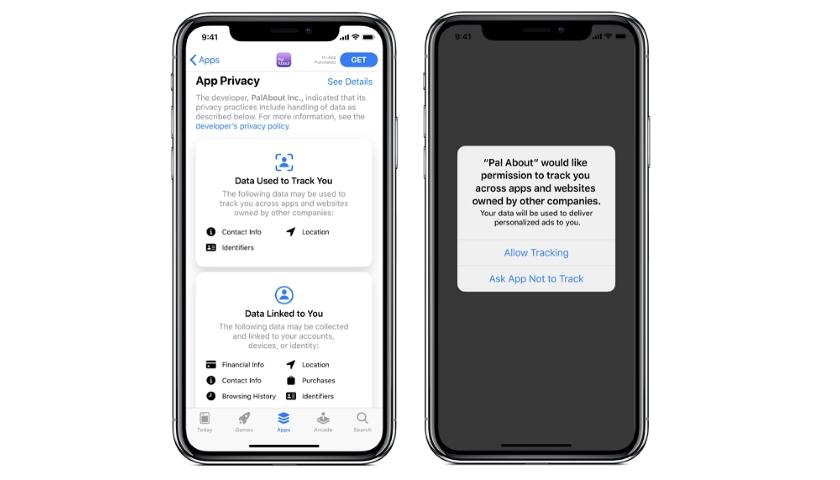 Apple app tracking