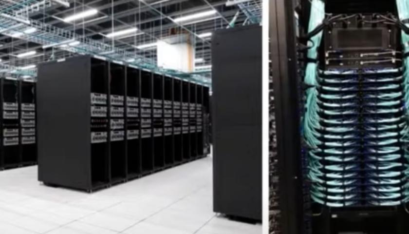 Tesla pre-Dojo supercomputer