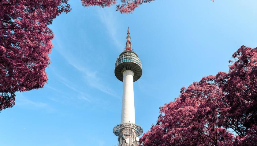 south korea tower
