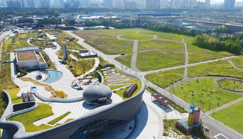 Tomorrow Water treatment plant, Korea