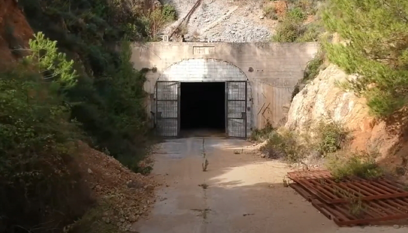 data center in Roman mine in Sardinia