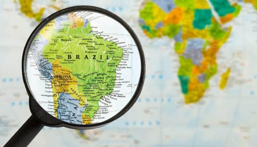 Brazil map telco